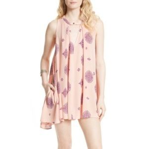 NWT Free People sleeveless swing top/ mini dress